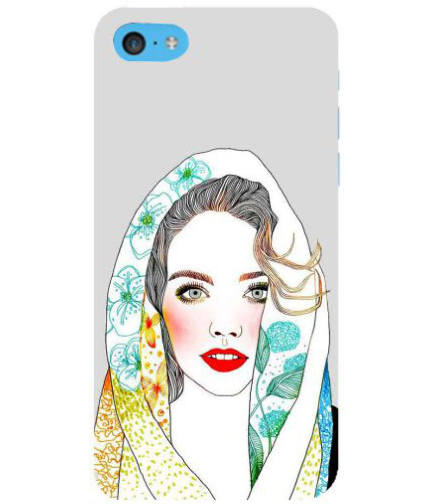 Apple iPhone 5C 3D Back Covers By Fuson