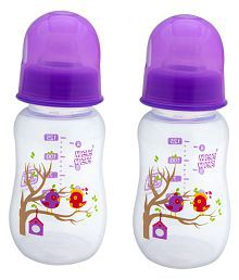 Mee Mee Purple Baby Premium 150ml Feeding Bottle   Pack Of 2