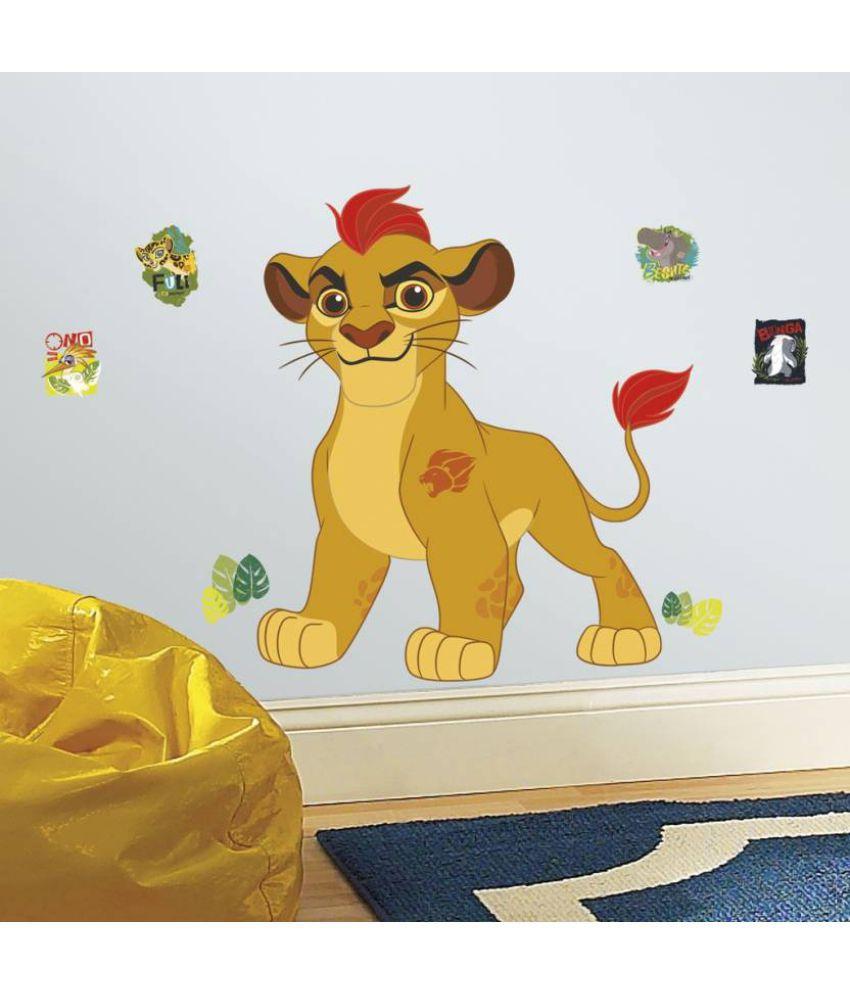 Asian Paints Lion Guard Kion Giant Vinyl Wall Stickers