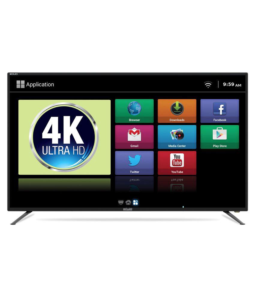 Mitashi MiDE050v03 FS 123.19 cm ( 49 ) Smart Ultra HD (4K) LED Television