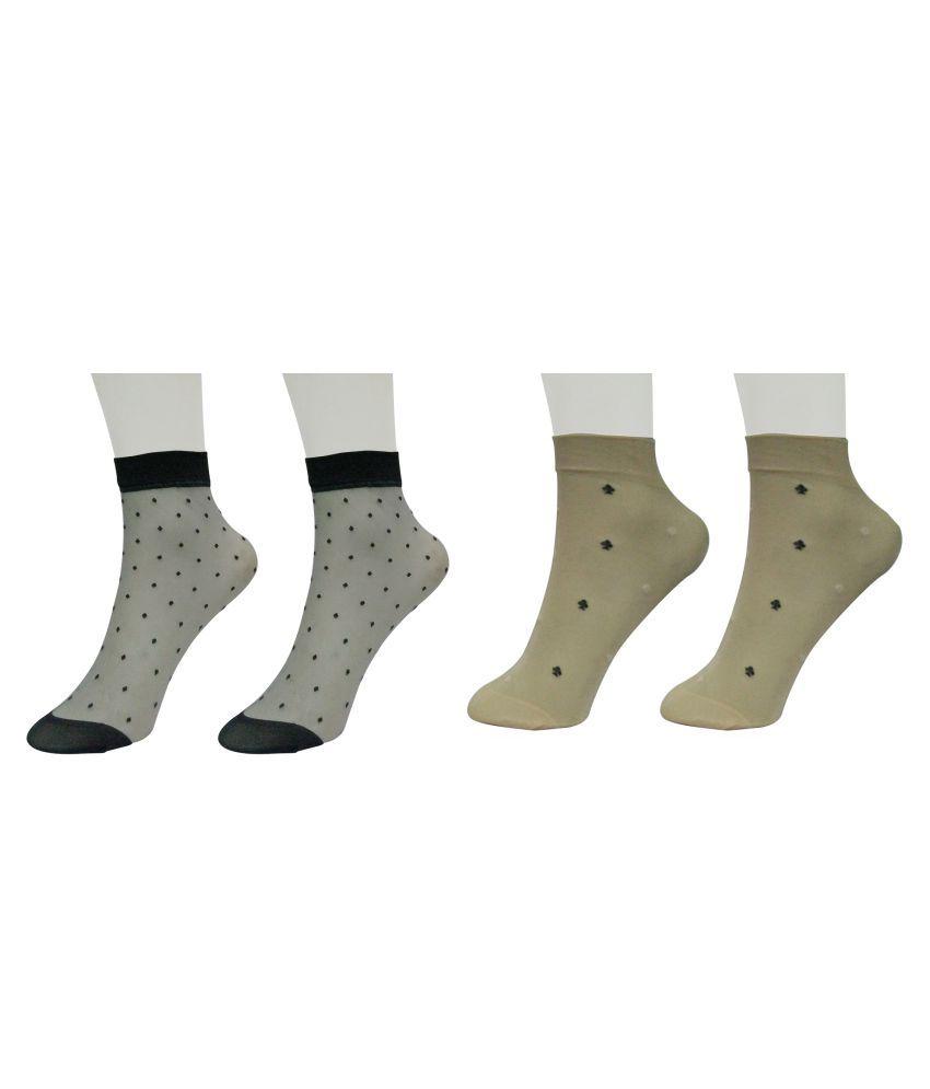 Gold Dust Multicolour Socks (2 Pair)