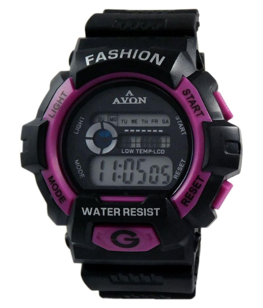 d1cbf665f A Avon Sports Black Digital Watch - 1002816 - Buy A Avon Sports Black  Digital Watch - 1002816 Online at Best Prices in India on Snapdeal