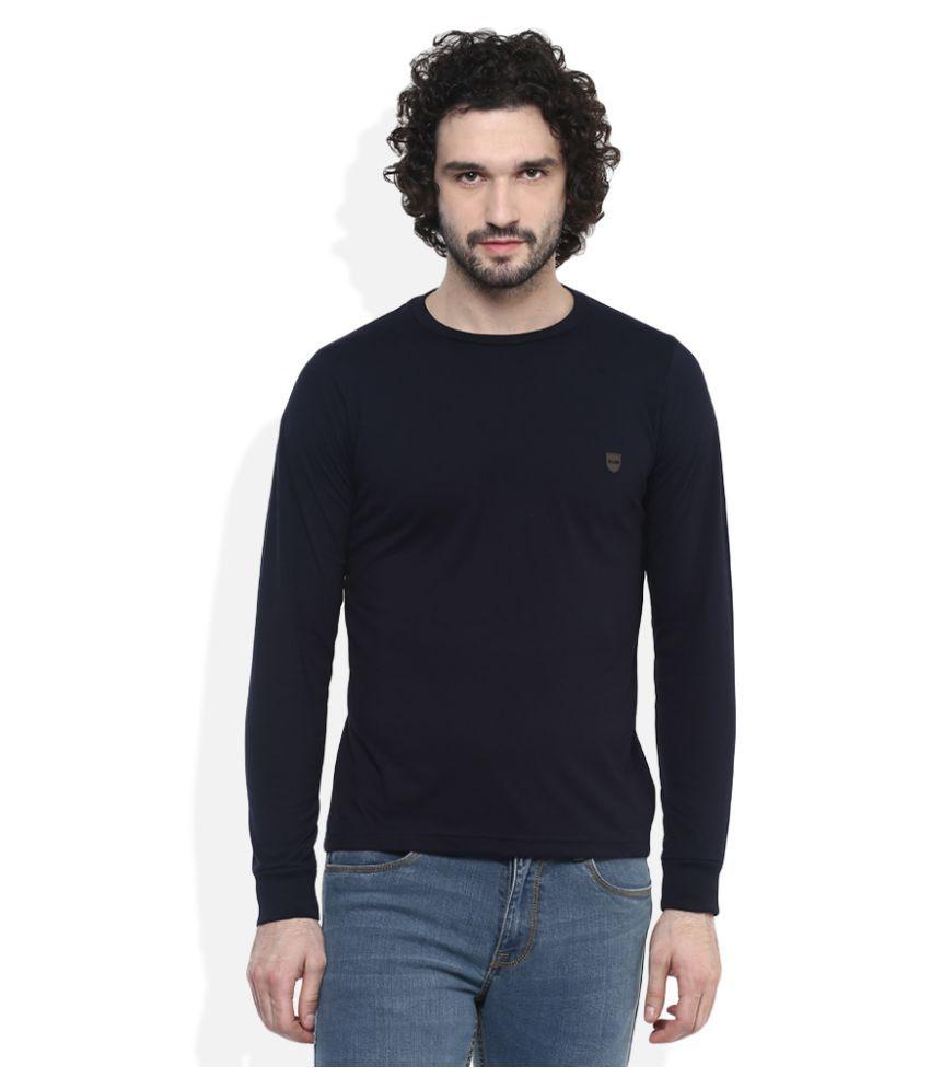 Monte Carlo Navy Round T-Shirt