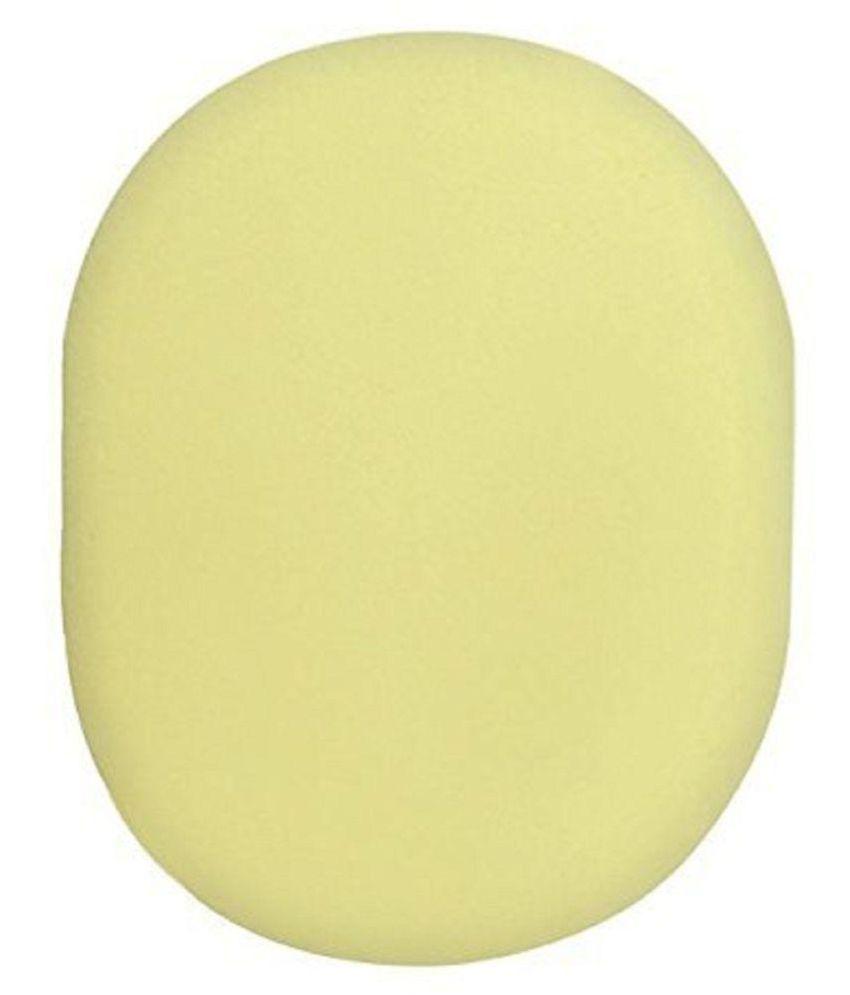 Panache Face Wash Sponge, Lemon Yellow Facial Sponge Yellow