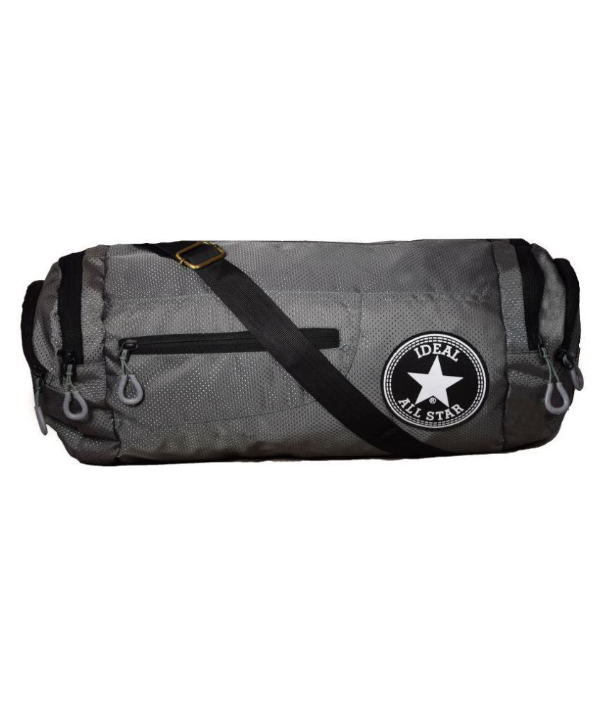 Ideal Multicolour Small Polyester Gym Bag