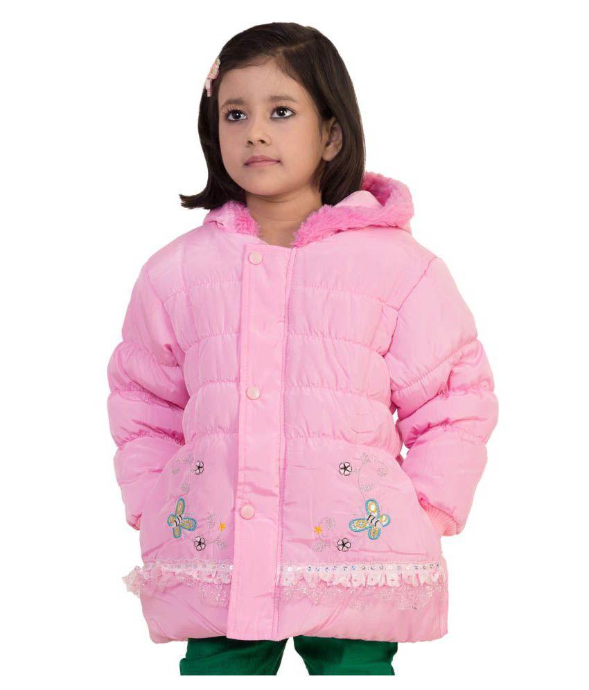 Mds Jeans Pink Woollen Jacket