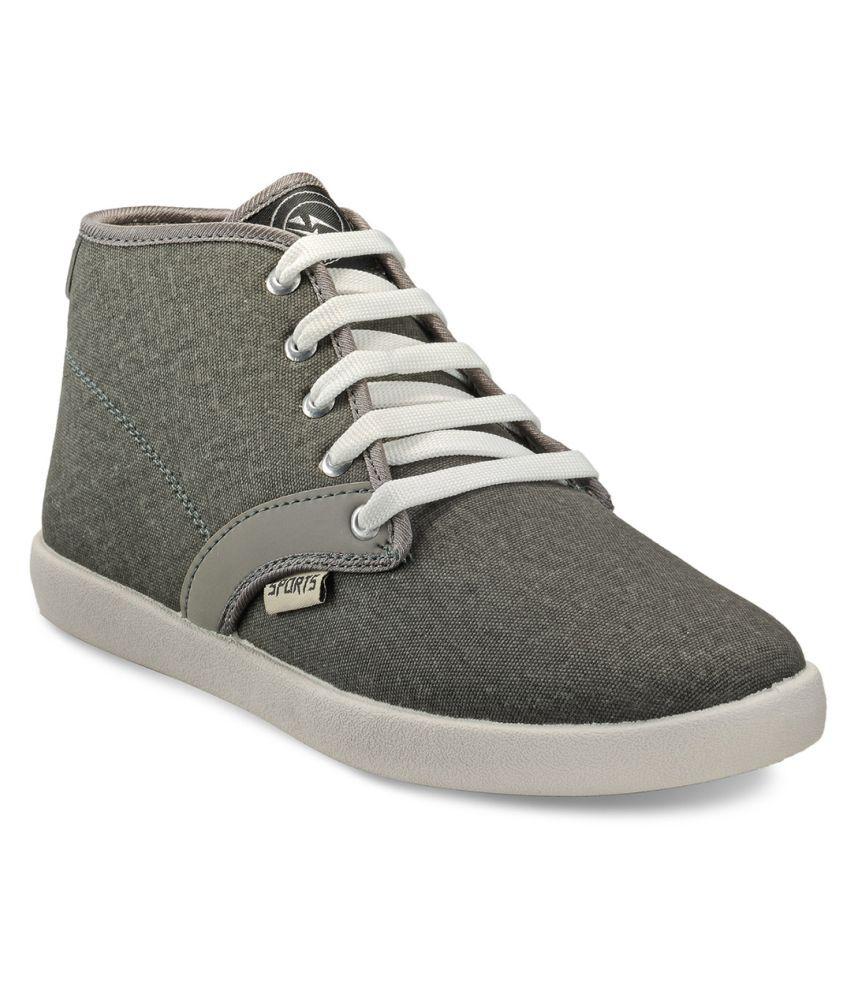 Yepme Sneakers Gray Casual Shoes - Buy