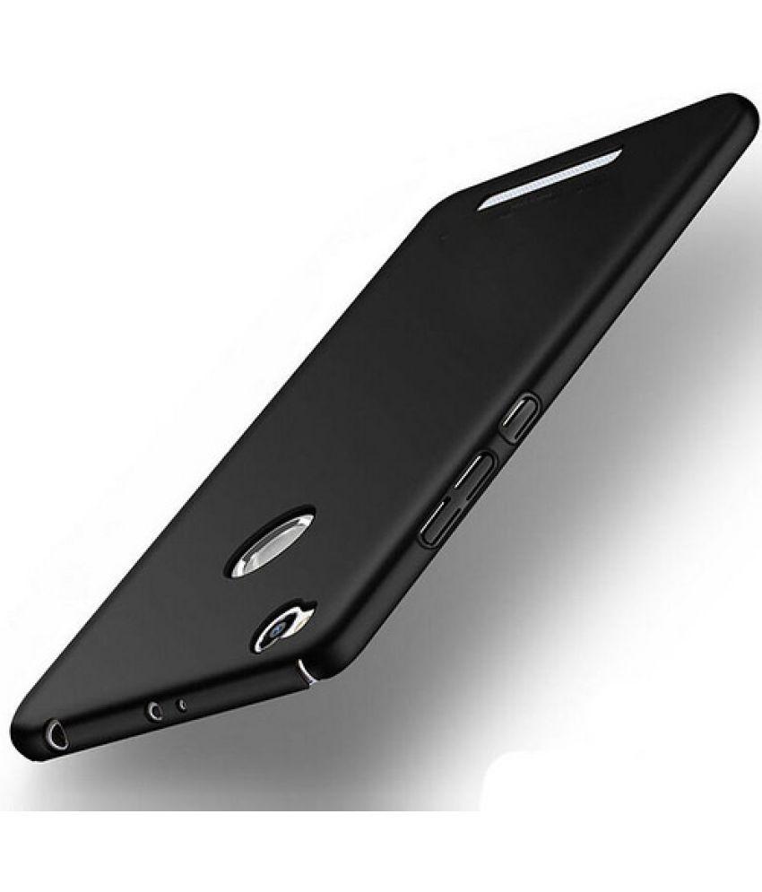 new styles f3d47 ca8ca Xiaomi Redmi 3s Prime Cover by Wow Imagine - Black