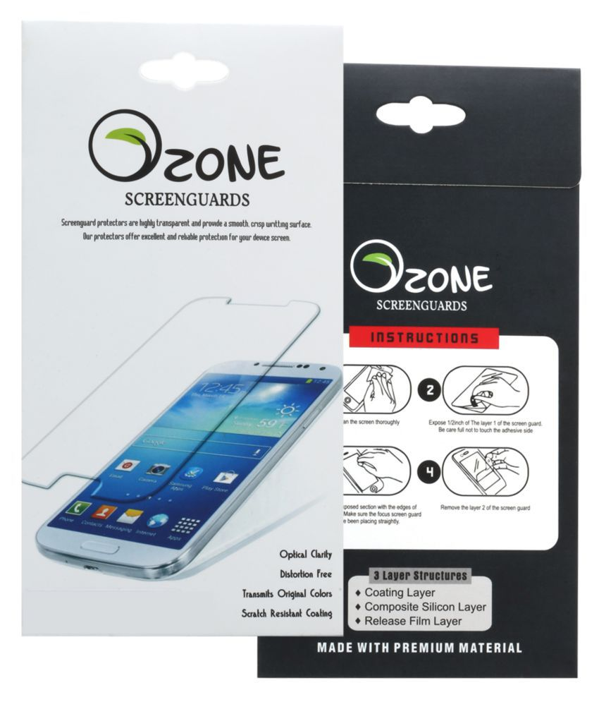 Samsung Galaxy A8 Tempered Glass Screen Guard By Ozone