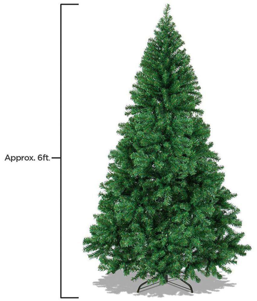 Best Price On Christmas Trees: Skycandle Plastic Christmas Tree Green: Buy Skycandle
