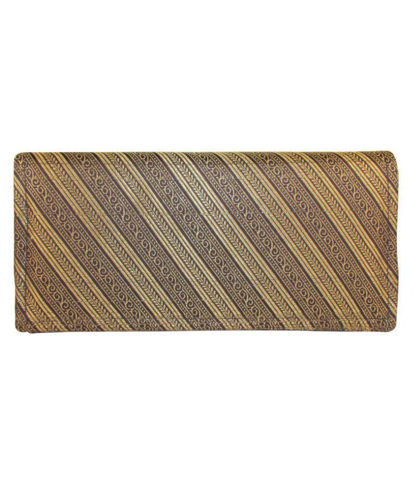 Indha Craft Multi Fabric Box Clutch