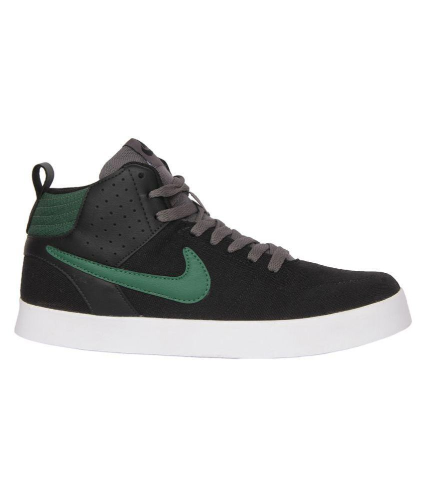 ... Nike Liteforce Iii Mid Lifestyle Black Casual Shoes ...
