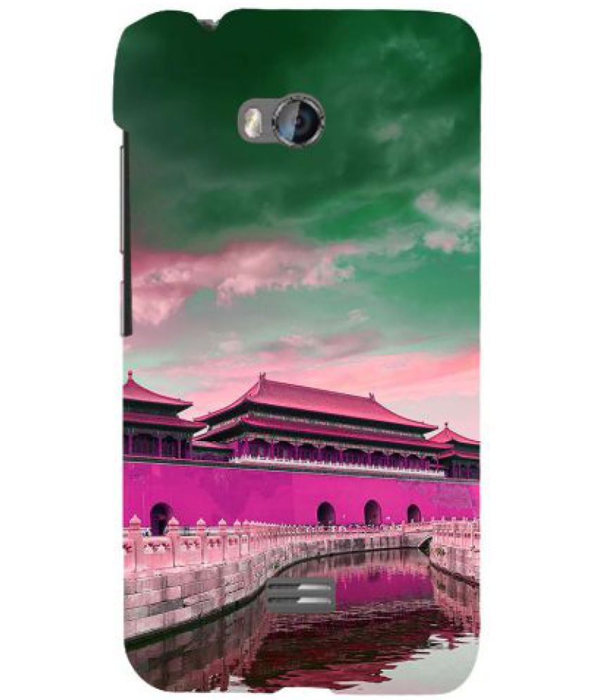 Micromax Bolt Q336 3D Back Covers By Fuson