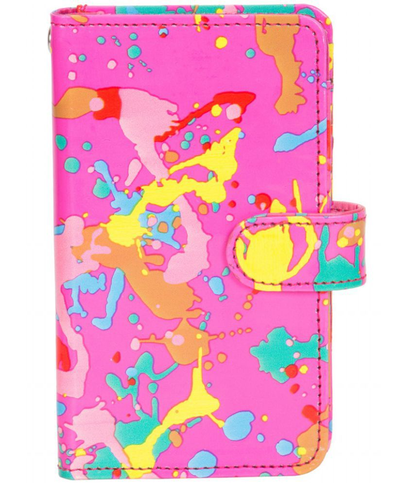 Micromax Canvas Selfie Holster Cover by Senzoni - Multi