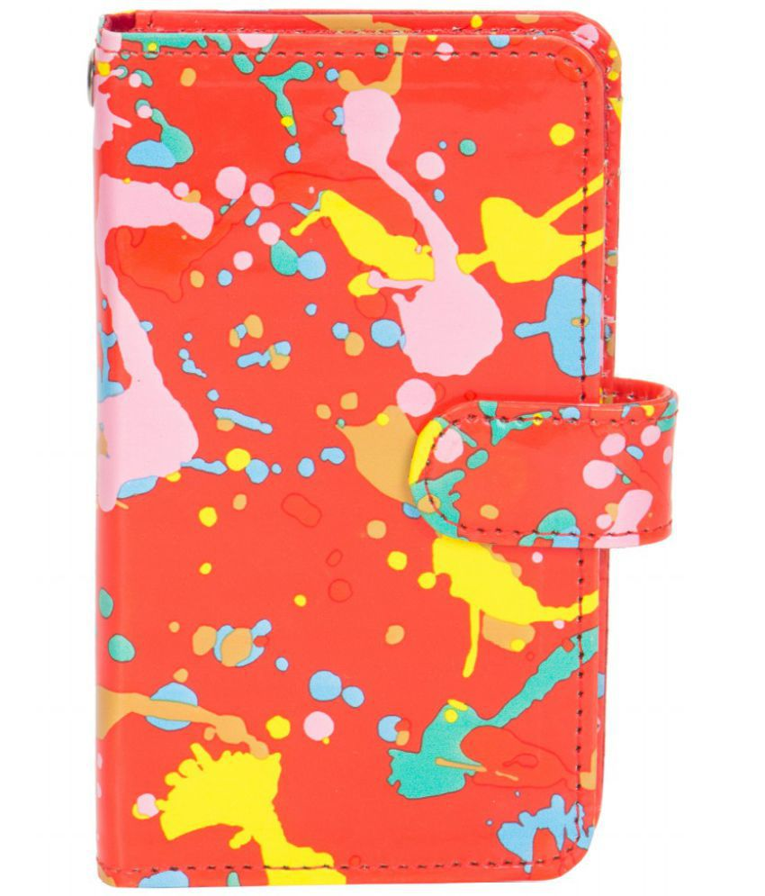 Micromax A116 Canvas HD Holster Cover by Senzoni - Multi