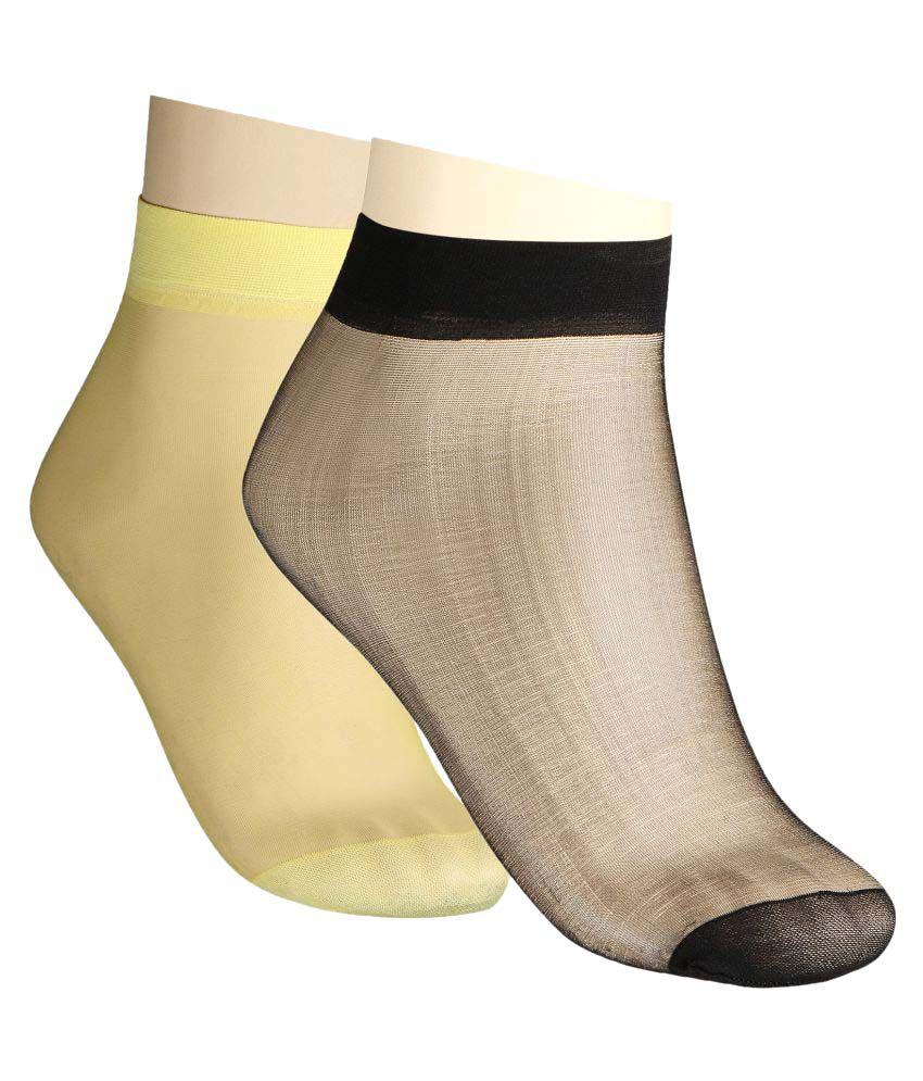 Muquam Multicolor Ankle Length Socks