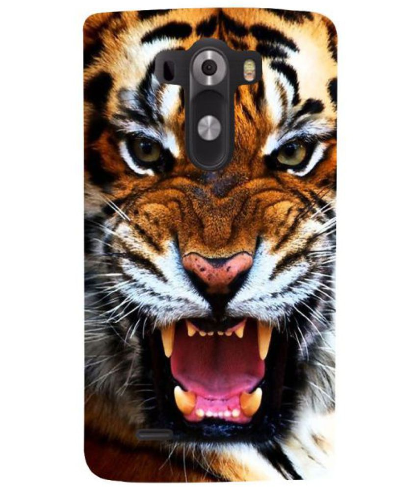 LG G3 3D Back Covers By Fuson
