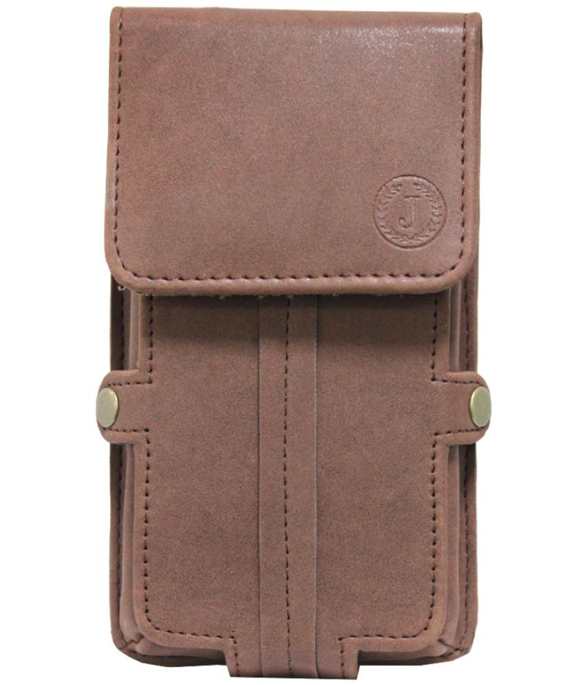 Elephone S2 Plus Holster Cover by Jojo - Brown