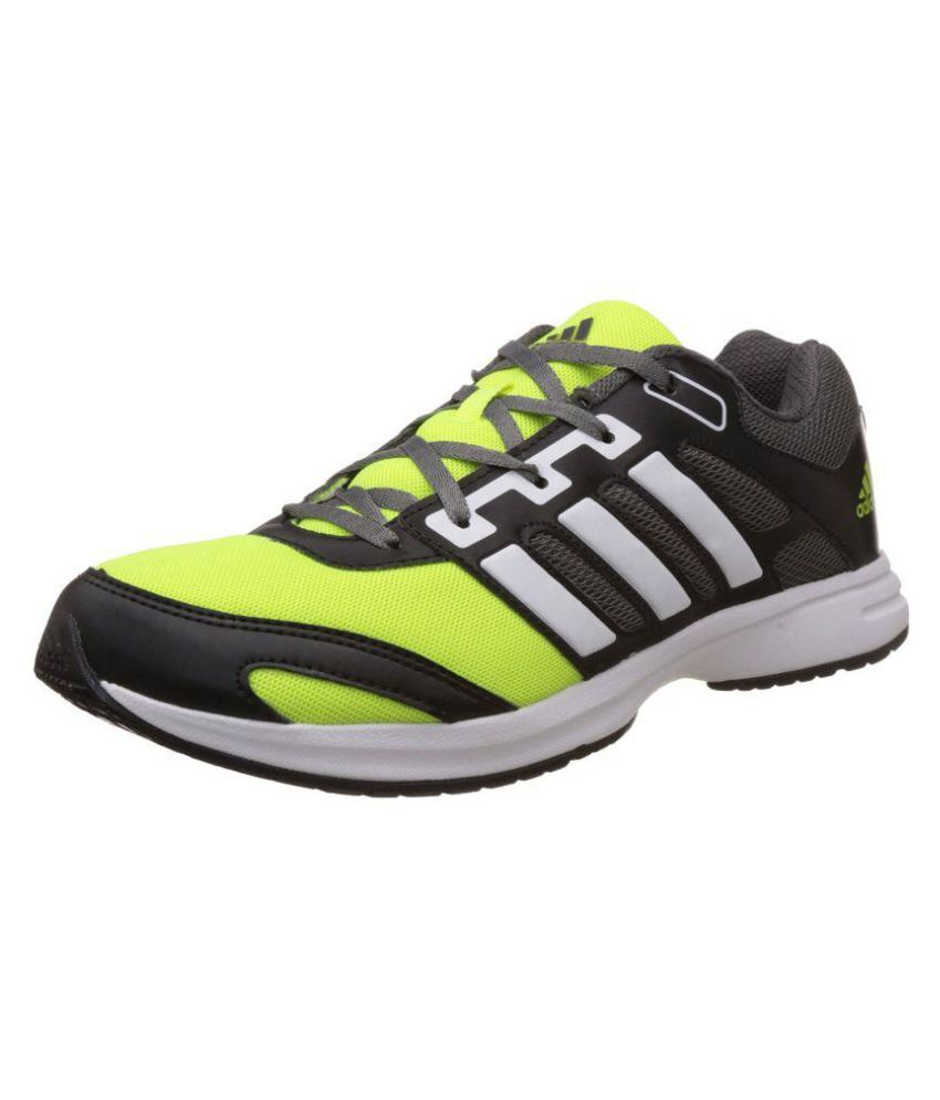 Adidas Green Running Shoes