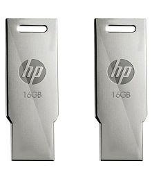 HP v232w v232w 16GB USB 2.0 Utility Pen Drives Pack of 2
