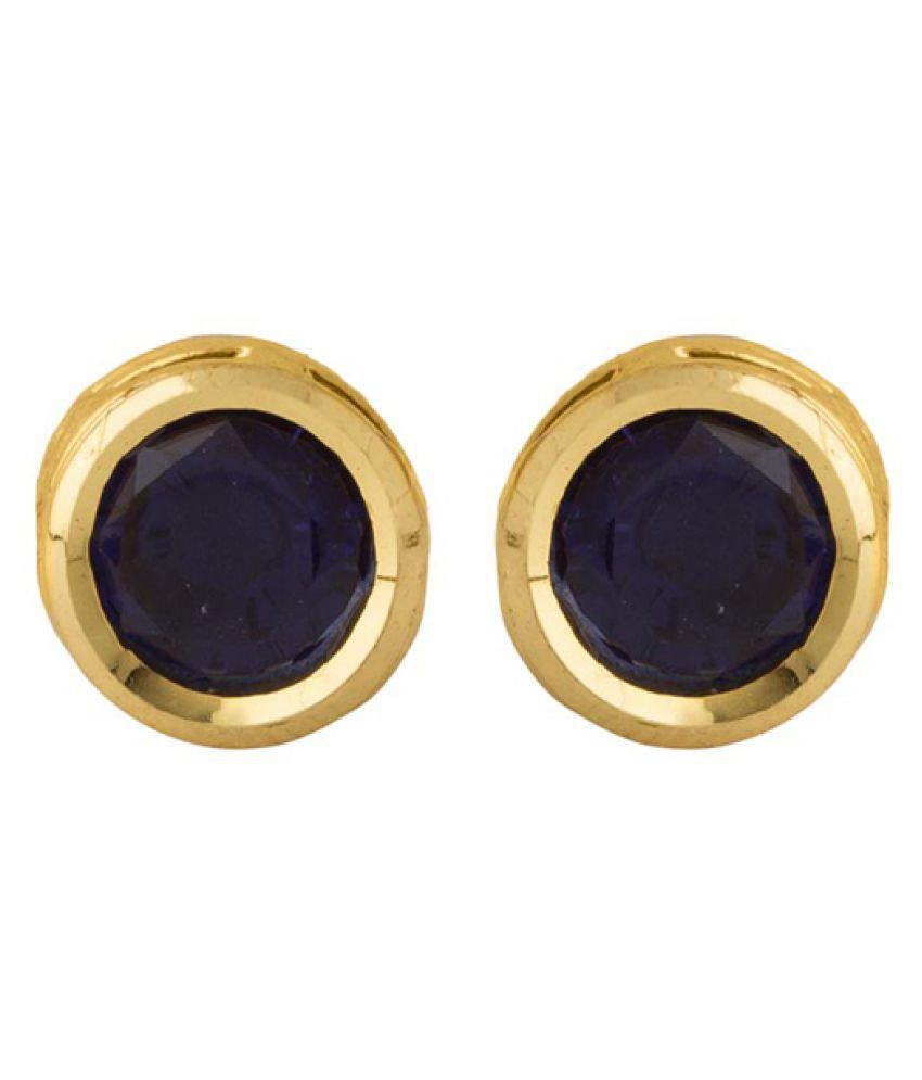Voylla Multicolour Stud Earrings