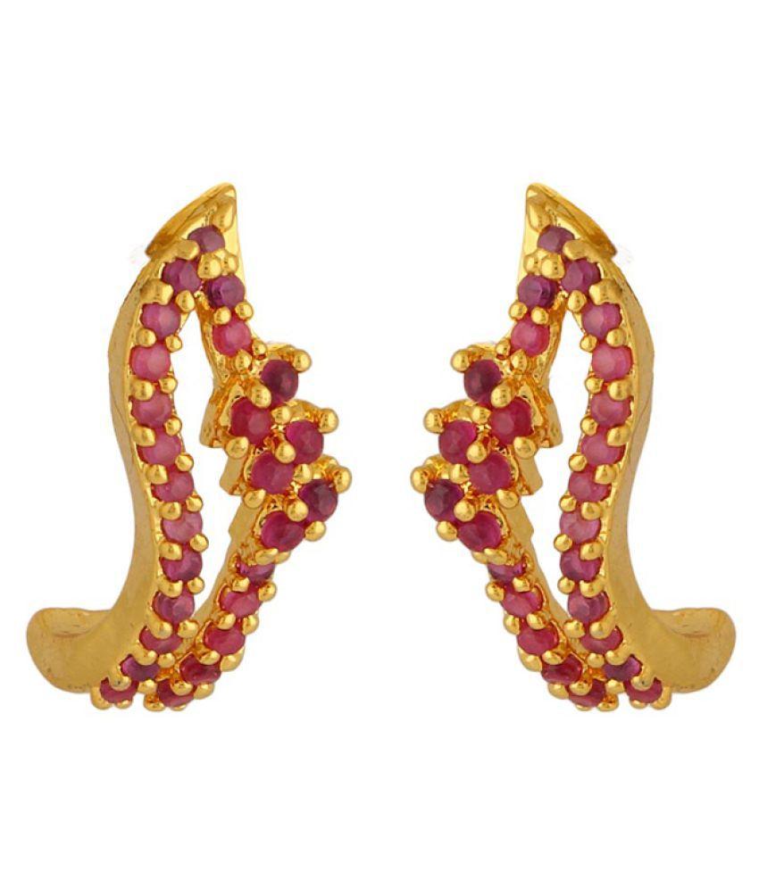 Voylla Multicolour Stud Earrings Single Pair