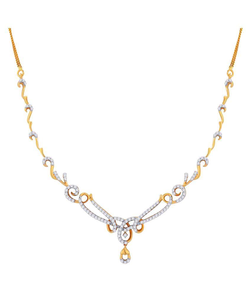 Gili 18k BIS Hallmarked Yellow Gold Necklace