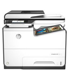 HP PageWide Pro MFP 577dw Multi Function Colored Inkjet Printer