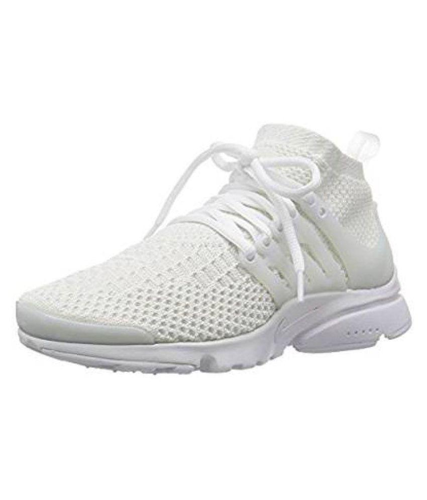Nike Air Presto White Running Shoes ...