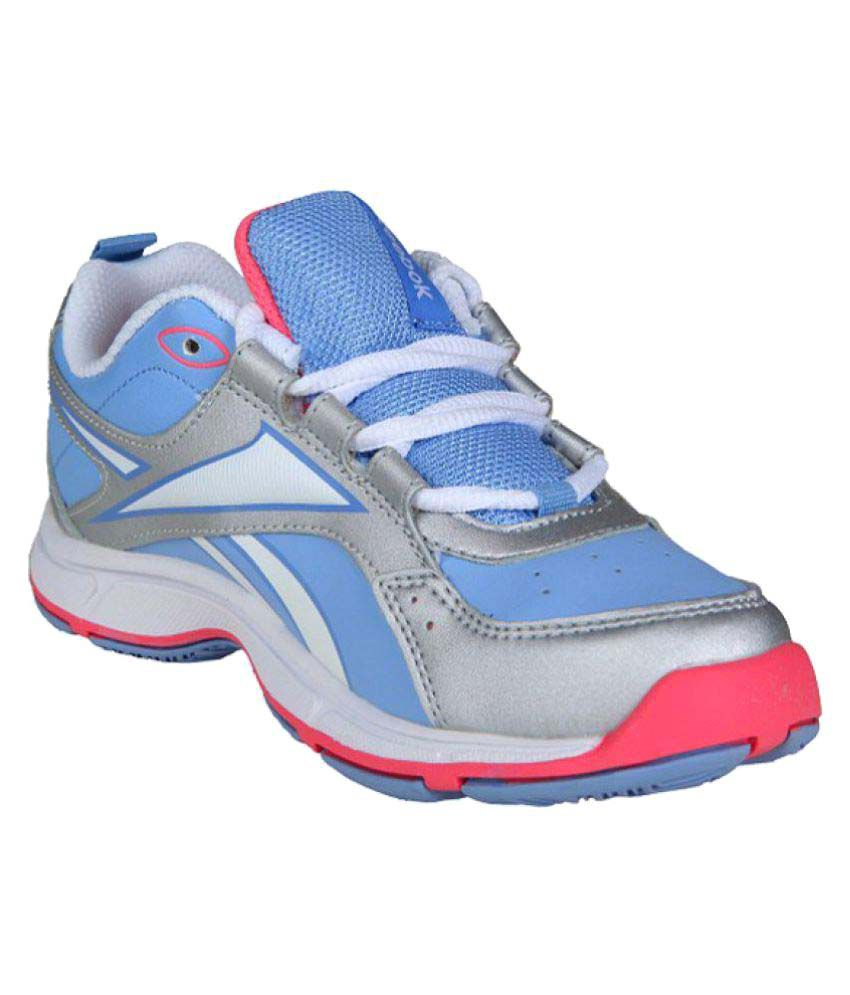 7b15c5acd Reebok Blue Boys Sports Shoes Price in India- Buy Reebok Blue Boys Sports  Shoes Online at Snapdeal