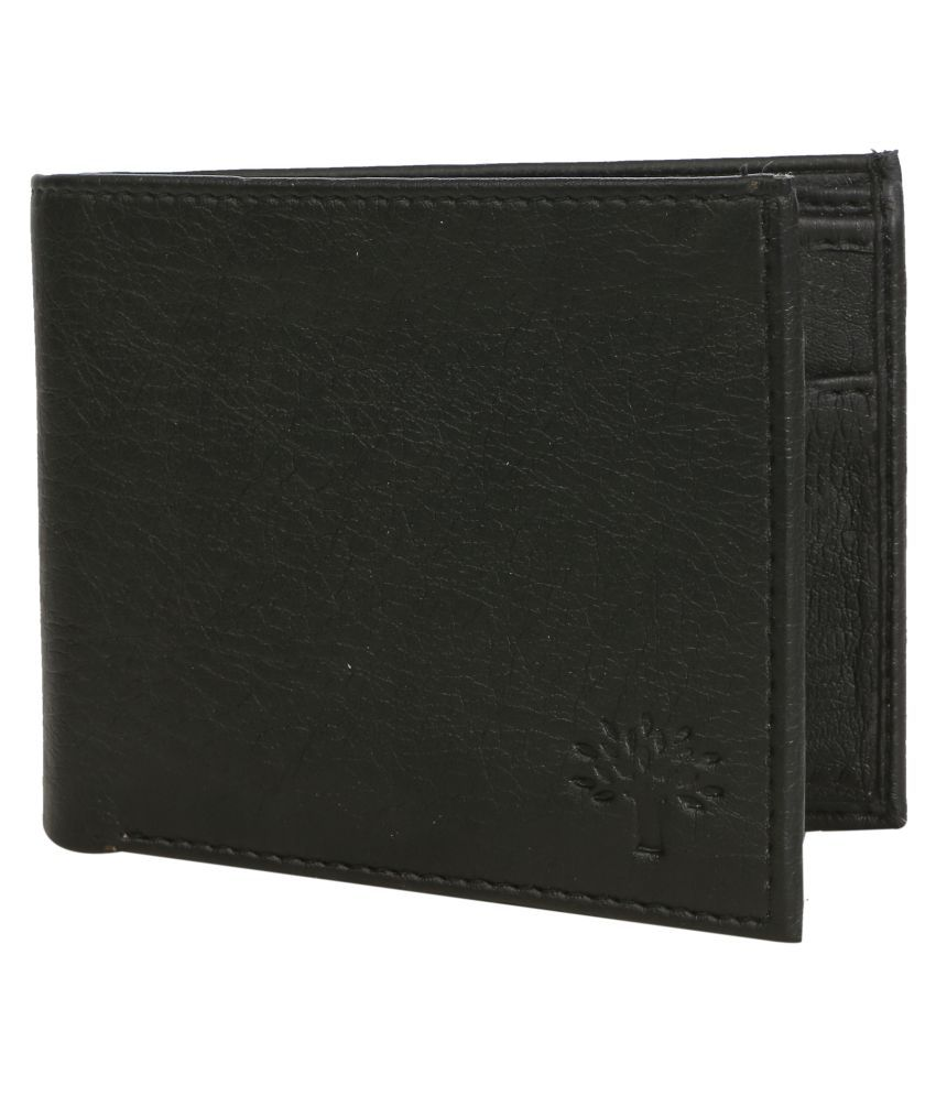 Woodland Black Formal Regular Wallet By Snapdeal @ Rs.399