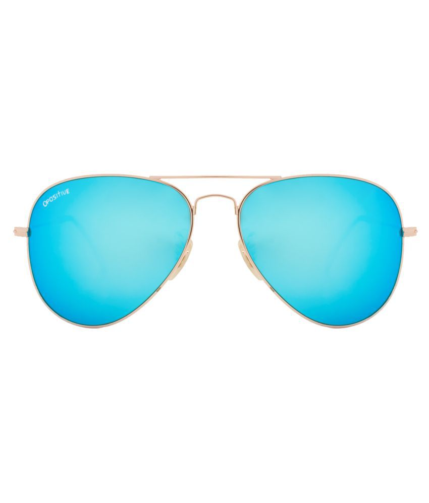 185a870811e8 O Positive Blue Aviator Sunglasses ( OPGL3026C2MR ) - Buy O Positive Blue  Aviator Sunglasses ( OPGL3026C2MR ) Online at Low Price - Snapdeal