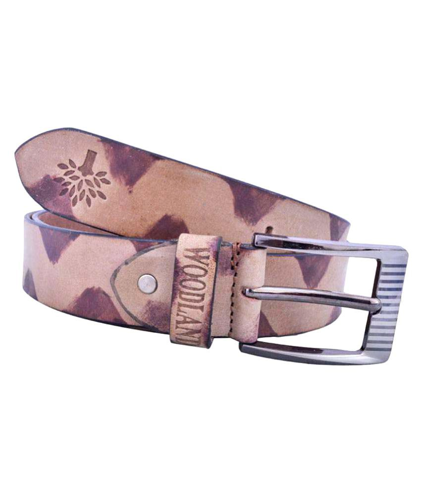 Dreamship Multi Leather Casual Belts