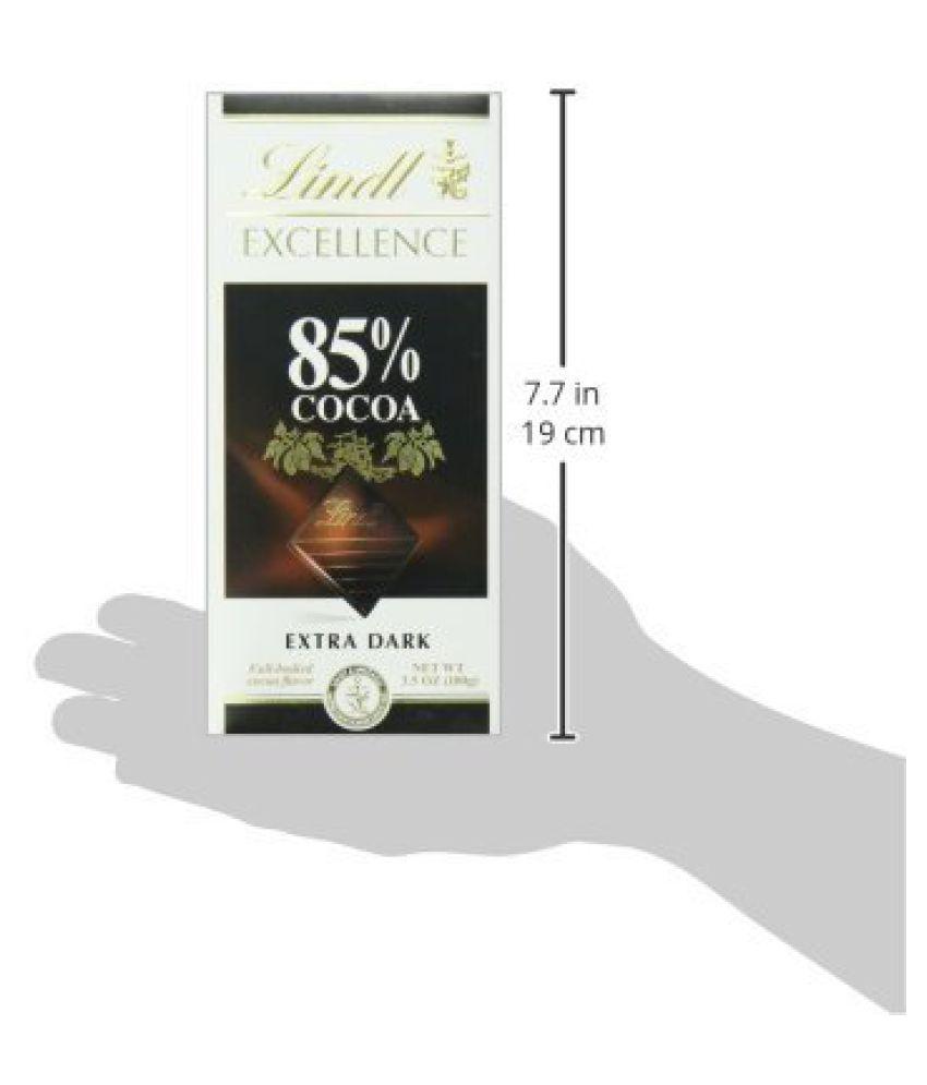 Lindt 85% Cocoa Dark Chocolate 100g Dark Chocolate Chocolate 130 ...