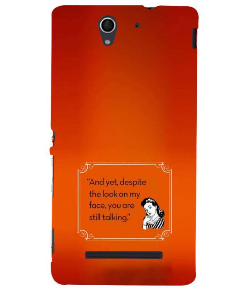 Sony Xperia C3 3D Back Covers By Fuson