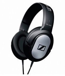 Sennheiser HD180 Over Ear Wired Headphones Without Mic Black