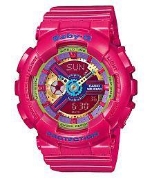 Casio Baby G Pink Analog-Digital Watch