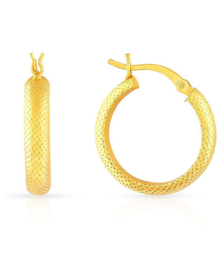 Malabar Gold and Diamonds 22k BIS Hallmarked Gold None Hoop