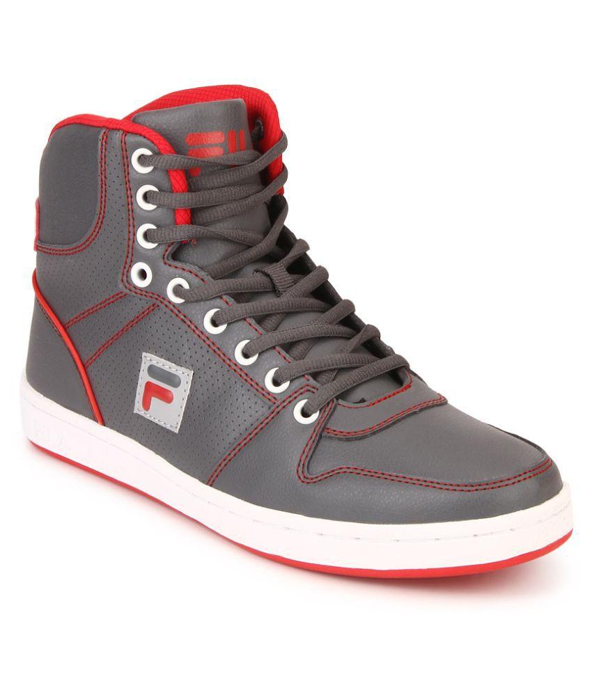 högmode mode försäljning återförsäljare Fila Hopper II Lifestyle Gray Casual Shoes - Buy Fila Hopper II ...