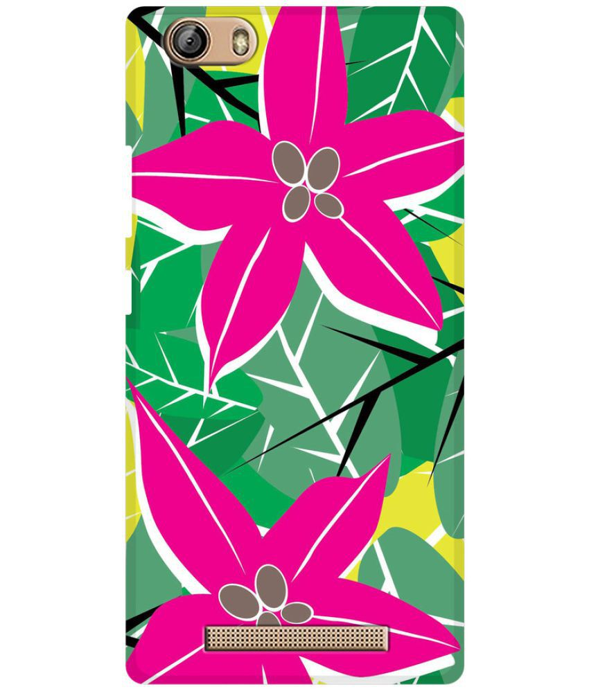 Gionee Marathon M5 Lite Printed Cover By SWANK THE NEW SWAG