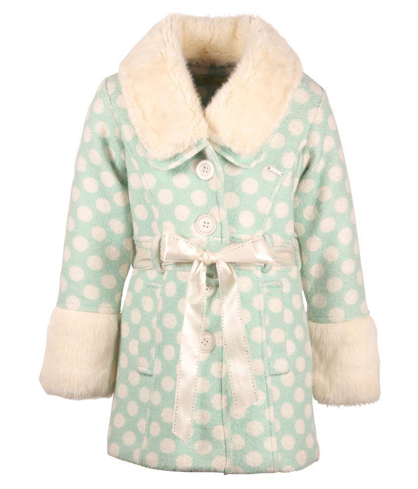 Cutecumber Green Girls Jacket
