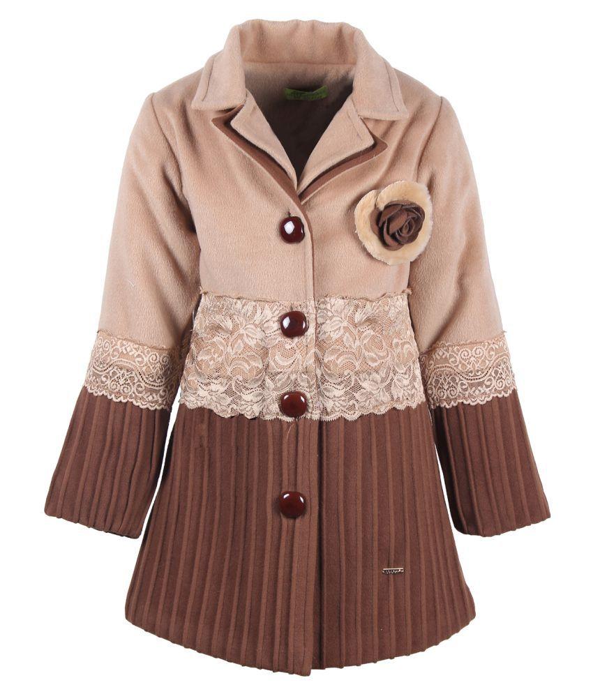Cutecumber Multicolored  Polyester Coat