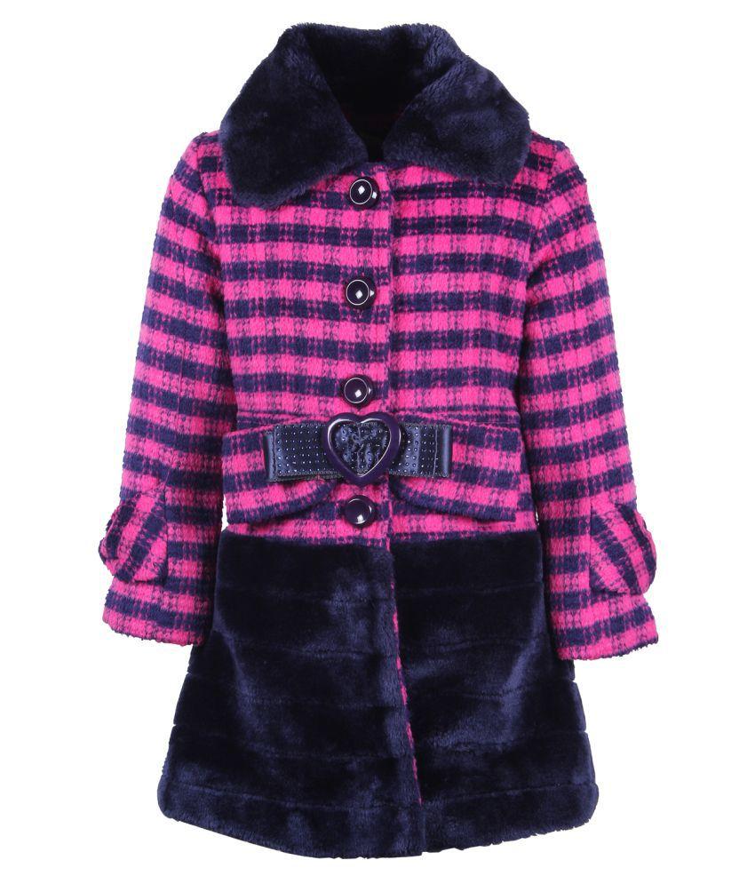 Cutecumber  Partywear Winter  Girls Navy  Jacket