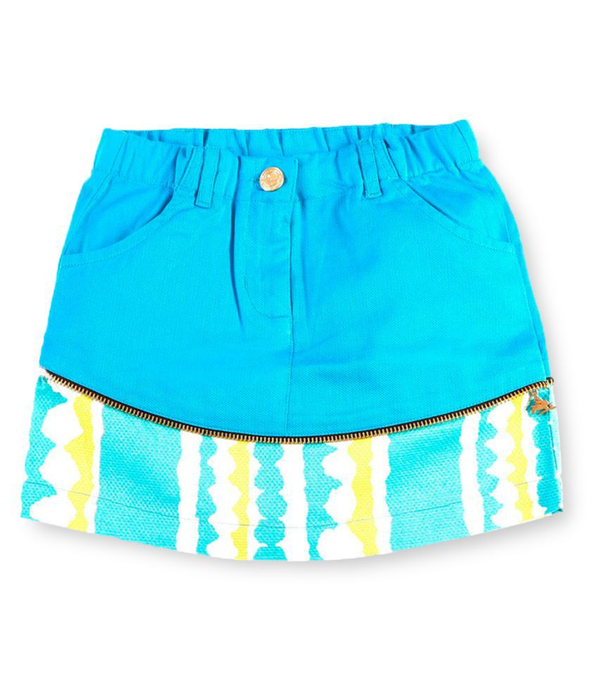 Cherry Crumble California Multicolour Hot Pant For Girl