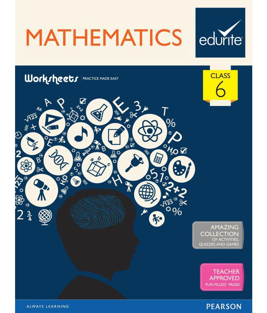 Edurite Class 6 Mathematics Worksheets: Buy Edurite Class 6 ...