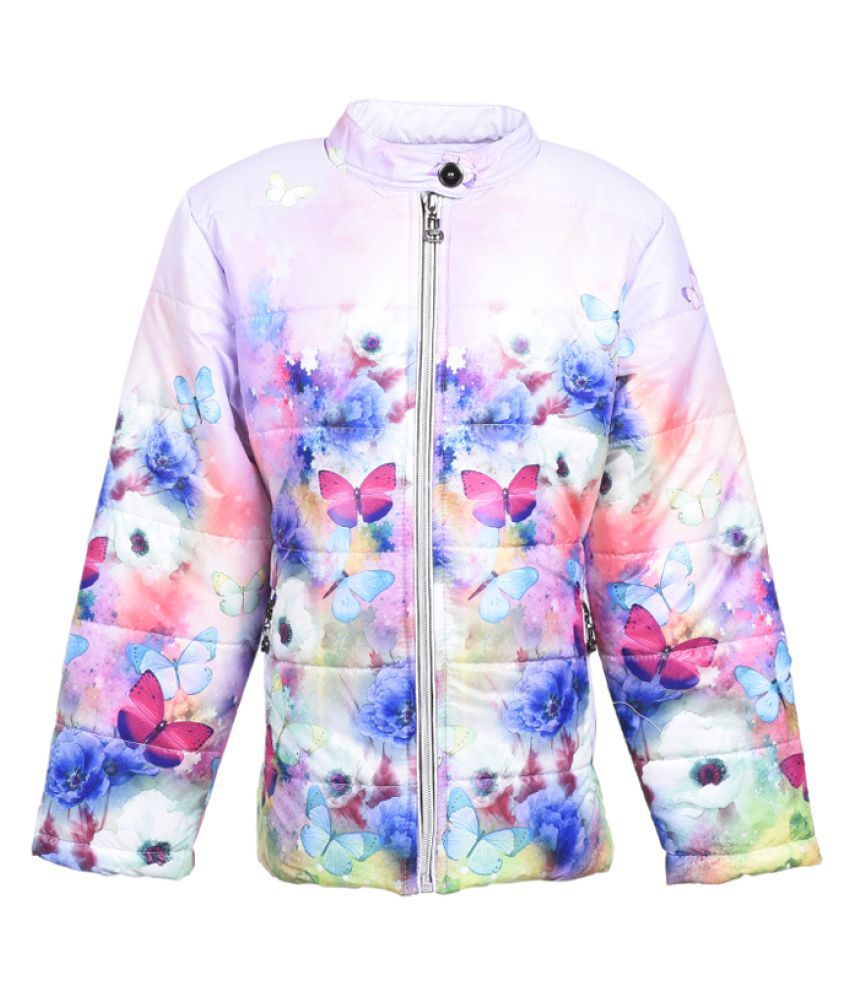 MSG Multicolor Polyester Quilted & Bomber Jacket