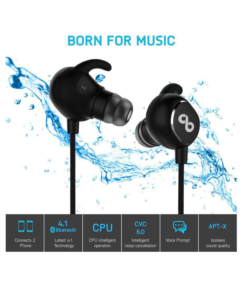 897fe689929 CrossBeats Wireless Bluetooth Headphone black - Buy CrossBeats ...