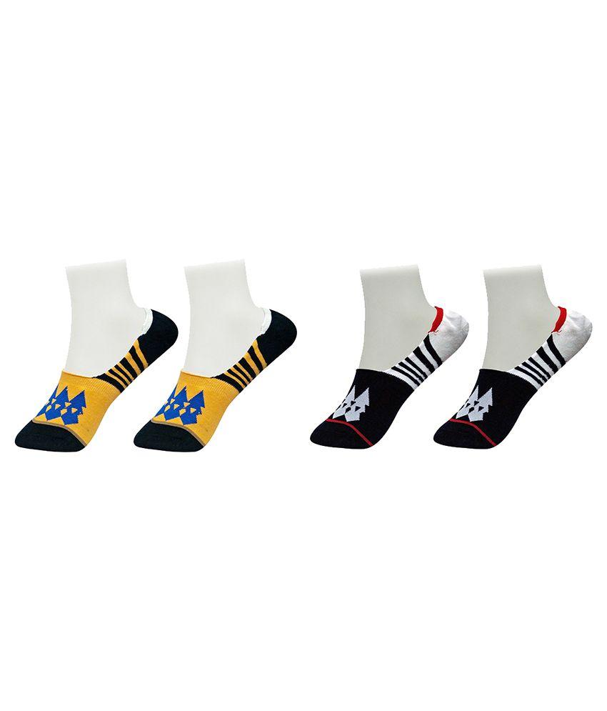 Gold Dust Multicolor Socks - Pair of 2