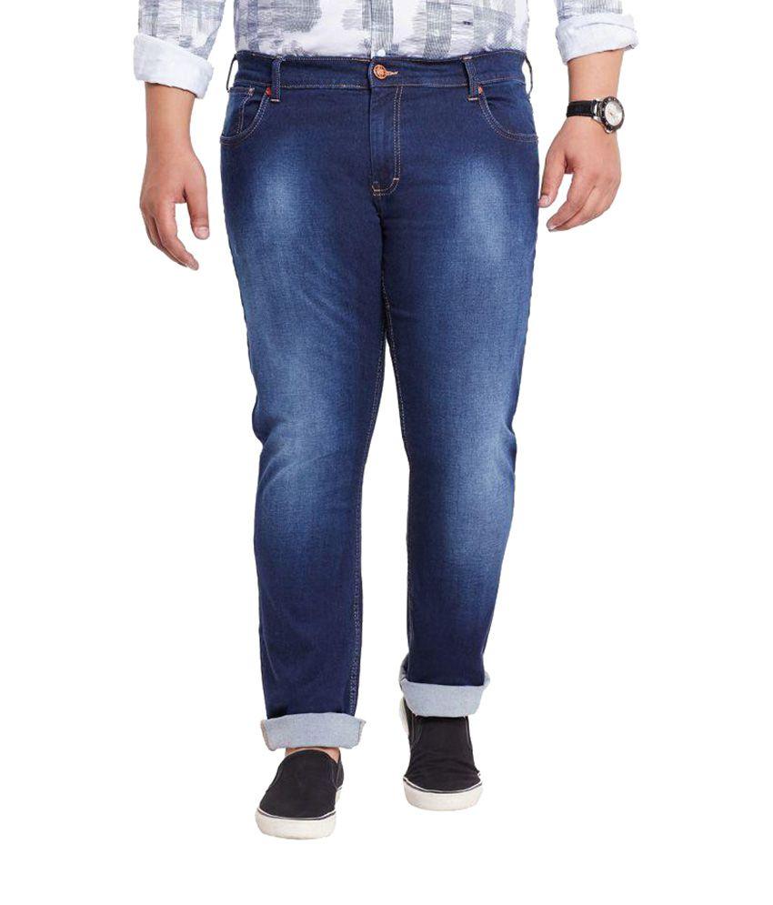 Mike & Smith Dark Blue Slim Jeans