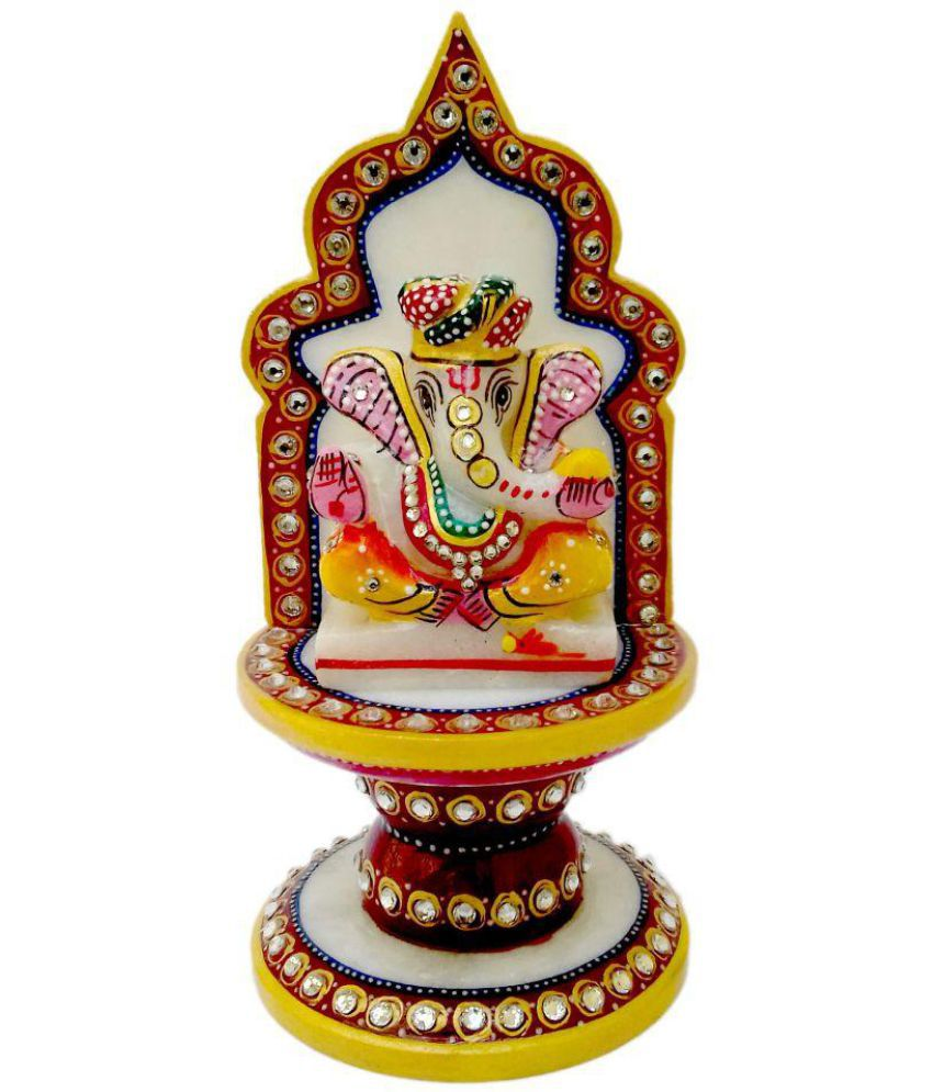 Wonder Creations Ganesha Marble Idol